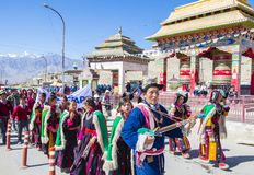 The Ladakh festival 2017 Stock Image