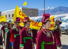 The Ladakh festival 2017 Royalty Free Stock Photography