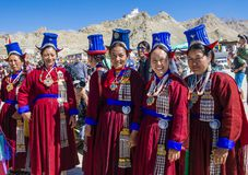 The Ladakh festival 2017 Stock Photos