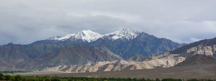 Ladakh góra krajobraz, India Zdjęcie Royalty Free