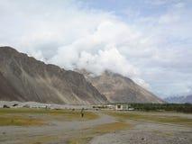 Ladakh góra krajobraz, India Obraz Royalty Free