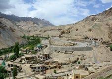 Ladakh góra krajobraz, India Obrazy Stock
