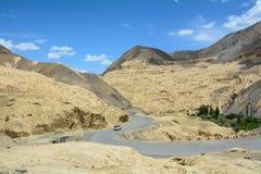 Ladakh góra krajobraz, India Obrazy Royalty Free