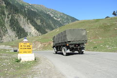 Ladakh Highway-1. Royalty Free Stock Images