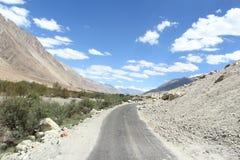 Ladakh Higway. Στοκ Εικόνες