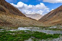 Ladakh, India. Landscape around Leh district in Ladakh, India Royalty Free Stock Images