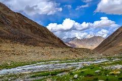 Ladakh, India. Landscape around Leh district in Ladakh, India Royalty Free Stock Image
