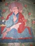 Ladakh, India, medieval wall drawings Royalty Free Stock Image