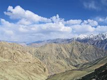 Ladakh, India, a mountain landscape Royalty Free Stock Image