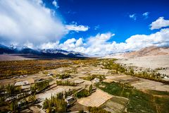 Ladakh in Indian Himalayas, Himachal Pradesh, India Royalty Free Stock Photo