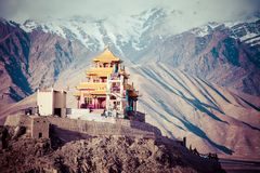 Ladakh in Indian Himalayas, Himachal Pradesh, India Royalty Free Stock Image