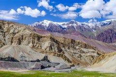 Ladakh Indien Arkivfoton