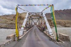 Ladakh Indien Arkivbilder