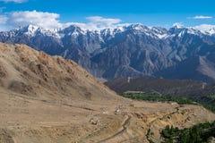 Ladakh Indien Arkivbild