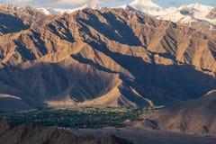Ladakh, la India Foto de archivo