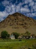 Ladakh landscape. A classic Ladakh landscape near Kargil royalty free stock image