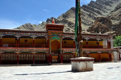 Ladakh (Little Tibet) - Hemis monastery Stock Photos