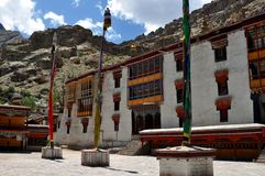 Ladakh (Little Tibet) - Hemis monastery Royalty Free Stock Photo
