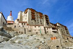 Ladakh (Little Tibet) - Leh palace Stock Image