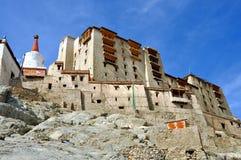 Ladakh (Little Tibet) - Leh palace Stock Image
