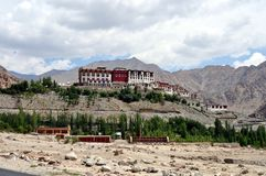 Ladakh (Little Tibet) - Phyang monastery Stock Photos