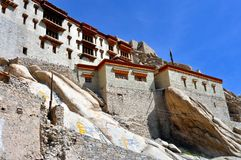 Ladakh (Little Tibet) - Shey Palace in Leh Stock Photos