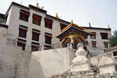 Ladakh (Little Tibet) - Spituk monastery in Leh Royalty Free Stock Images