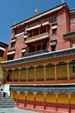 Ladakh (Little Tibet) - Thiksey monastery Stock Photos
