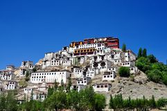 Ladakh (Little Tibet) - Tikse monastery Stock Images