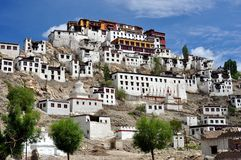 Ladakh (Little Tibet) - Tikse monastery Royalty Free Stock Photo