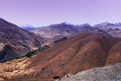 Ladakh mountain range Stock Image
