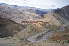 Ladakh Mountain Road Royalty Free Stock Image