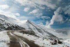 Ladakh mountain road Royalty Free Stock Photography