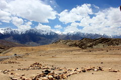 Ladakh Mountains Royalty Free Stock Images