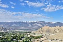 Ladakh och berg Royaltyfria Foton