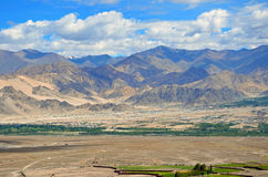 Ladakh range Royalty Free Stock Photos
