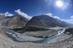 Ladakh region of North India Royalty Free Stock Photos