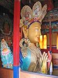 Ladakh, Shey, Buddha Shakjamuni in a monastery Stock Image