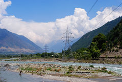 ladakh wibrujący krajobrazowy Fotografia Stock