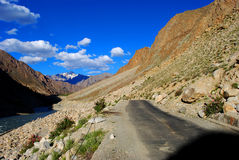 Ladakh wilderness Royalty Free Stock Photo
