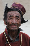 Ladakhi man portrait Royalty Free Stock Image