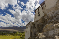 Ladakhklooster Royalty-vrije Stock Afbeeldingen