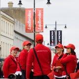 Ladbrokes en el festival 2009 de Cheltenham Foto de archivo libre de regalías