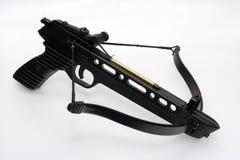 laddad crossbowhandeldvapen Arkivfoto