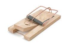 Laddad mousetrap Arkivbild