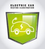 laddande elkraft för bil vektor illustrationer