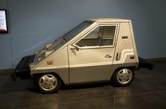 laddande elkraft för bil Arkivbilder