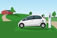 laddande elkraft för bil royaltyfri illustrationer