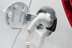 laddande elkraft för bil Royaltyfri Bild