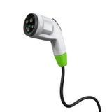 Laddande propp för elektriskt medel Arkivfoton
